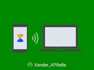 Memindah Atau mentransfer File Tanpa Kabel Data Ke Laptop