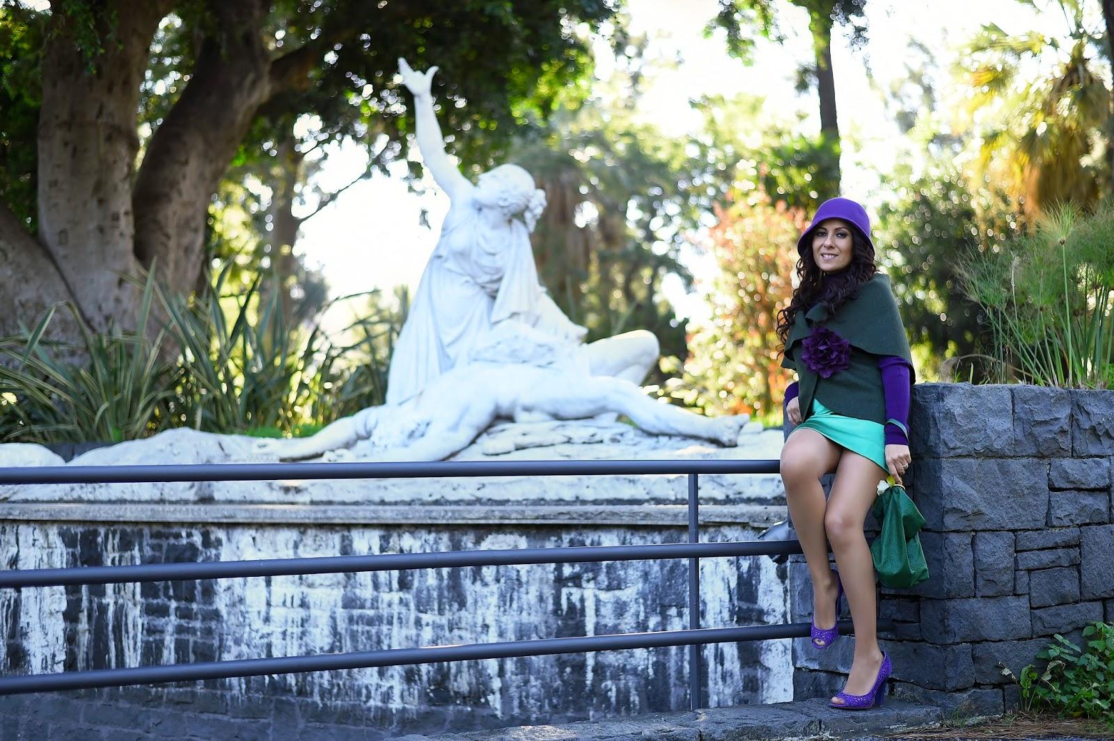 Unconventional Secrets: Green & Violet