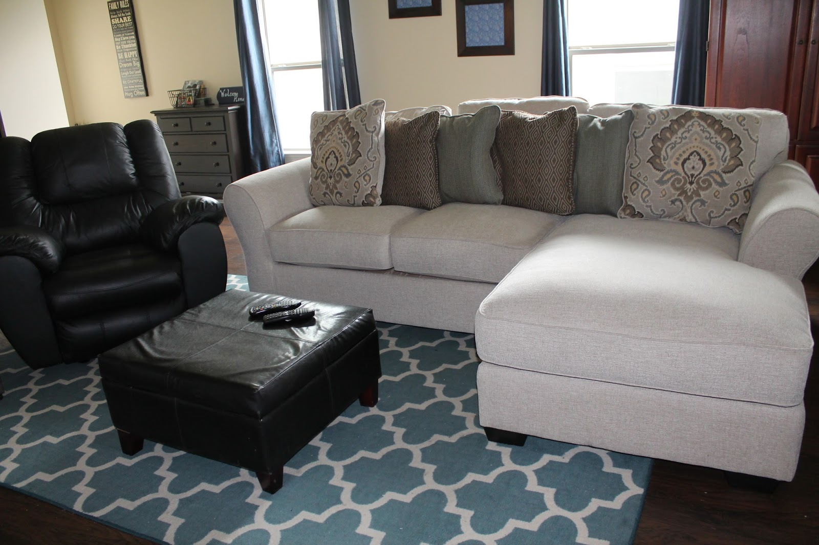 New Furniture The Ashley Wilcot Collection And Mcadams Recliner