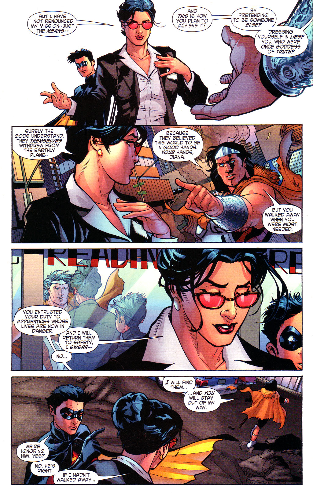 Read online Wonder Woman (2006) comic -  Issue #3 - 9