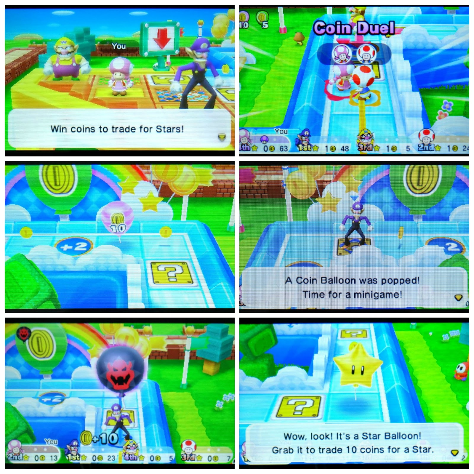 Nintendo 3DS Mario Party, new Nintendo 3DS multi-player, Mario Party Star Rush