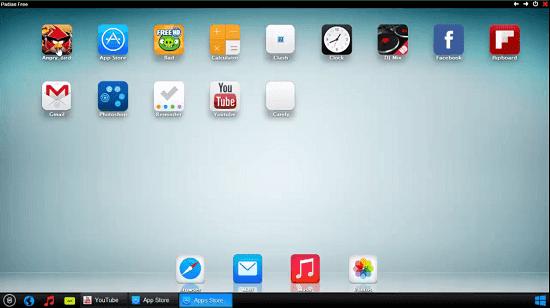برنامج iPadian أفضل محاكي نظام IOS لتنزيل تطبيقات وألعاب الايفون للحاسوب