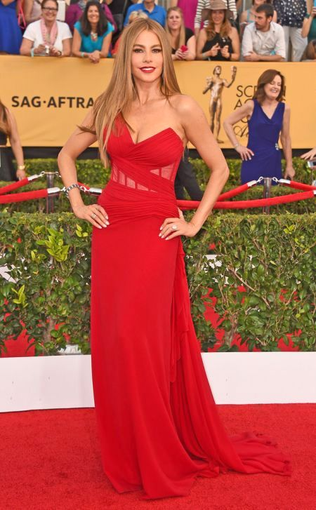Sofía Vergara in Donnan Karan Atelier at the SAG Awards 2015