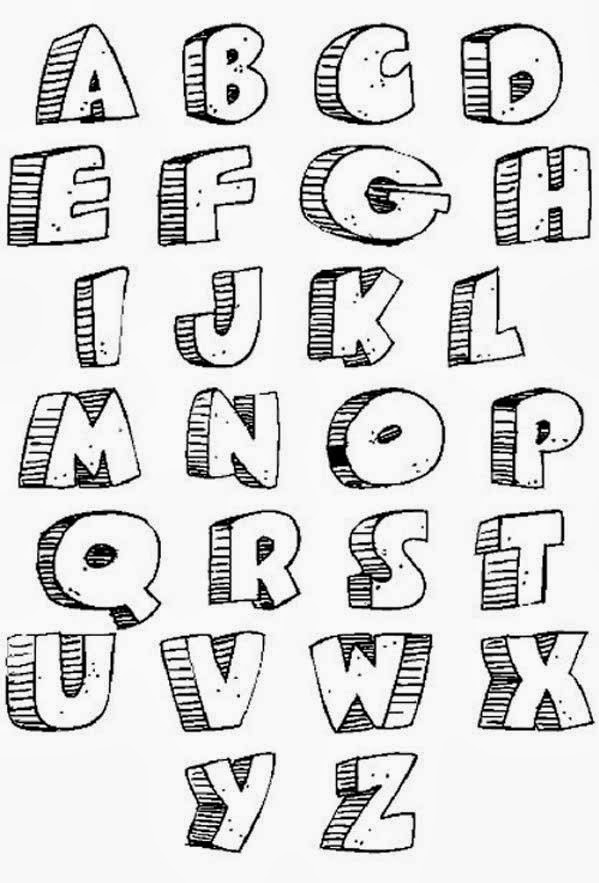-alphabet-black-and-white-graffiti-fonts-graffiti-1750-bubble-letter ...