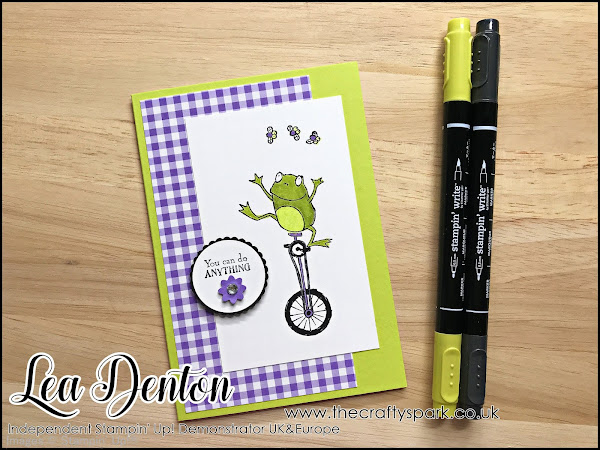 Stampin' Up! So Hoppy Together Sale-A-Bration Frog Card | Video Tutorial