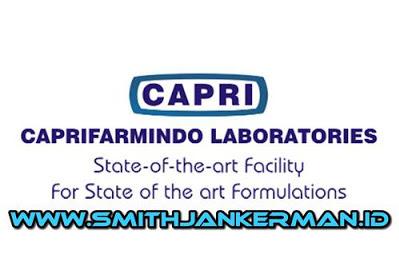Lowongan PT. Caprifarmindo Laboratories Pekanbaru Januari 2019