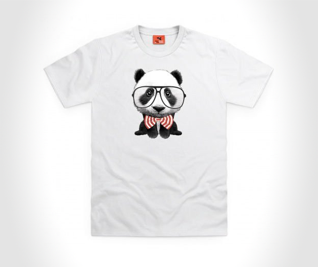 Goodie Two Sleeves Panda Squared T Shirt