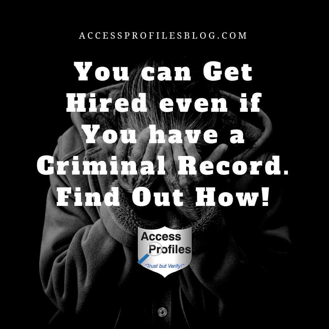Access Profiles Inc Can A Hacker Erase My Criminal Record