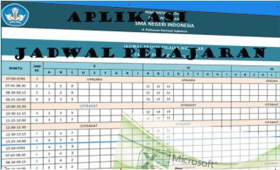Download Aplikasi jadwal Pelajaran SMP