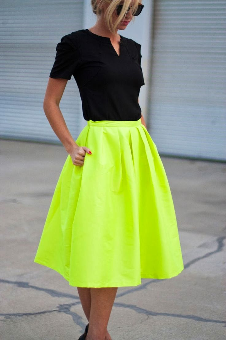 Fashion Trends: I Love Fresh Fashion: Neon Fashion Trends 2014