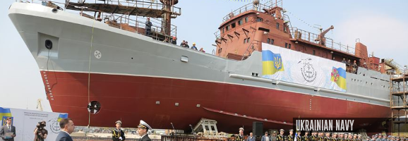 New reconnaissance ship deployed by Ukraine's Navy