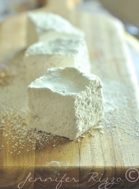Yummy homemade marshmallows with ut any corn products!