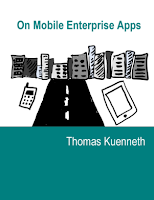Book cover: On Mobile Enterprise Apps