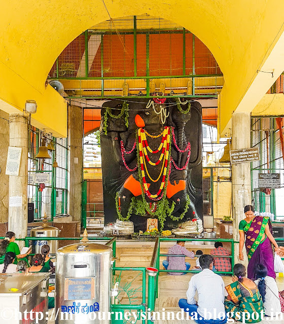 Mahalakshmi and Anjaneya Temple, Bangalore