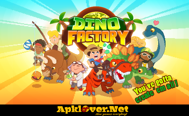 Dino Factory MOD APK unlimited money
