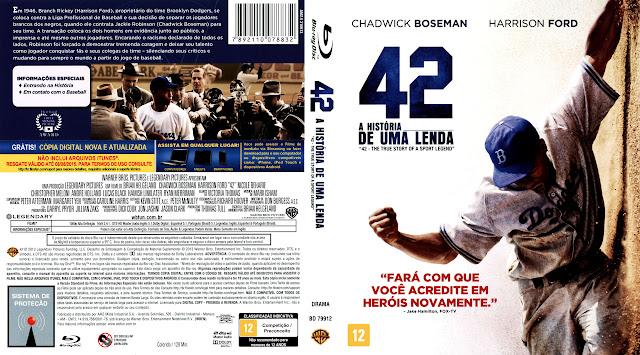 Capa Blu-ray 42 A História de Uma Lenda