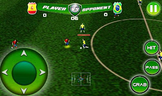 Screenshots of the Football Tournament Game for Android tablet, phone.