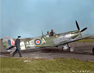 Warbird Notes and Stories : Spitfire Mk  IX build from Brian