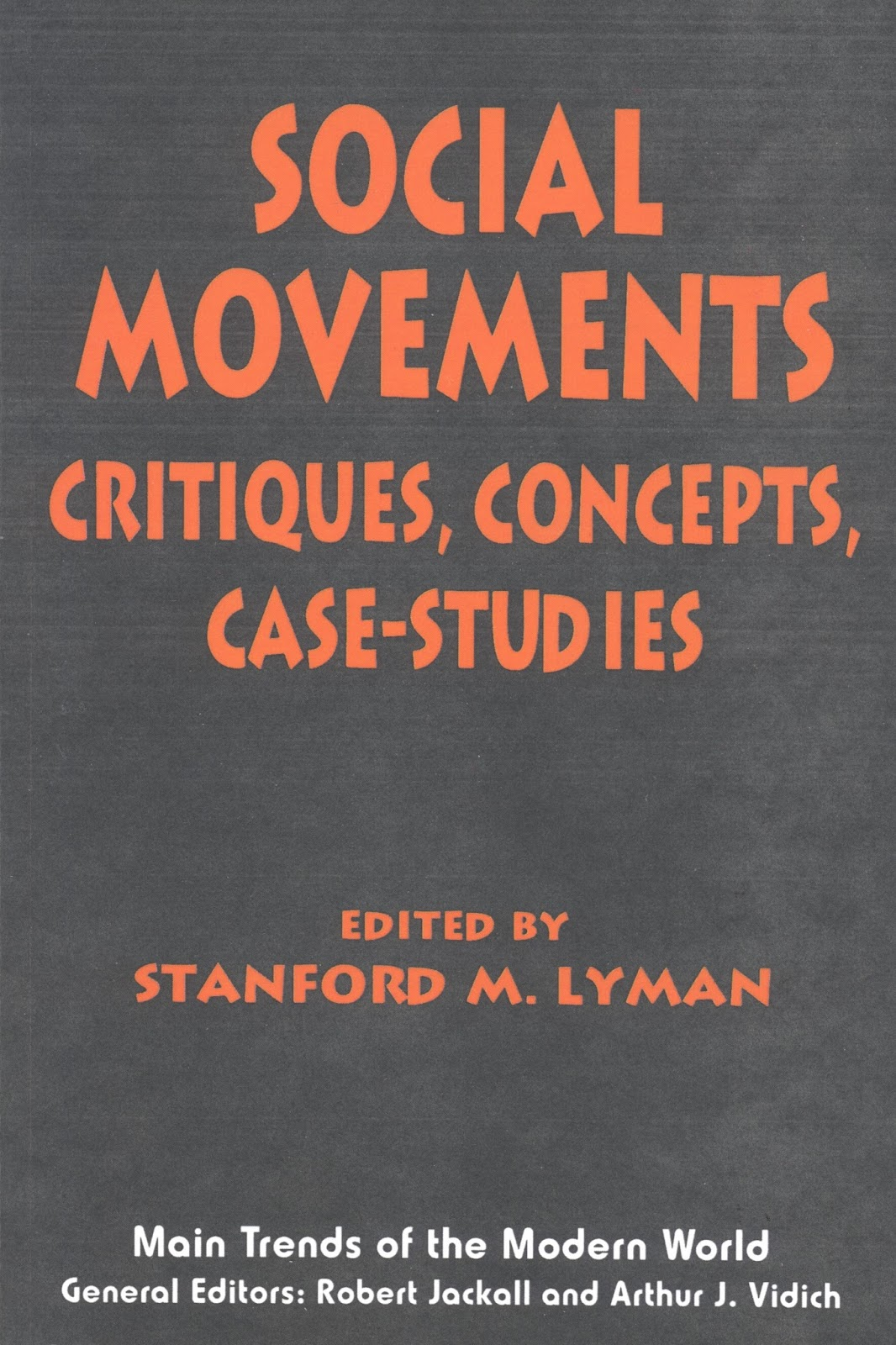 Essay: social movements  collective behavior