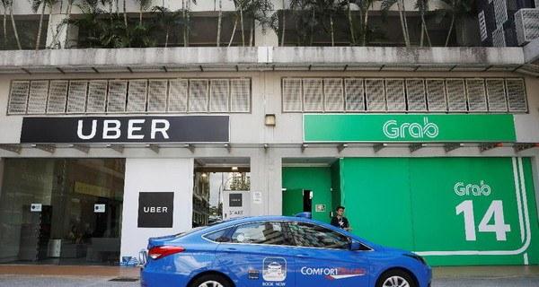 Uber di akusisi oleh Grab perusahaan transportasi teknologi digital