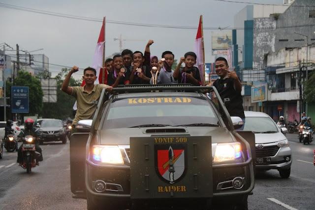 Klub Sepakbola Binaan Yonif Raider 509 Kostrad Sabet Juara 3 Piala Soeratin U-13 Se-Jawa Timur