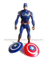 Captain America Winter Soldier 6in KO Single C k2