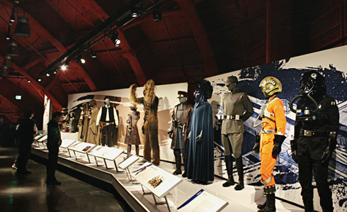 star wars power of costume exhibit seattle