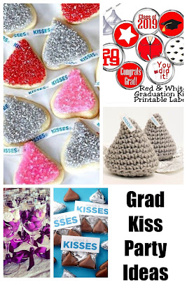 "What about a fun party based around Hershey kisses and your graduate ""kissing"" the grade school years behind?"