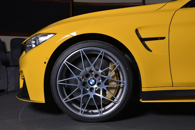 2017 BMW M4 in Speed Yellow - #BMW #M4 #tuning