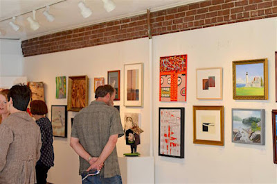 Members Exhibition Harlow Gallery Hallowell Maine