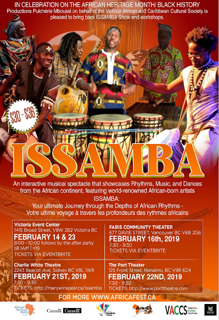 ISSAMBA Nanaimo : Limited Time 50% Off Tickets