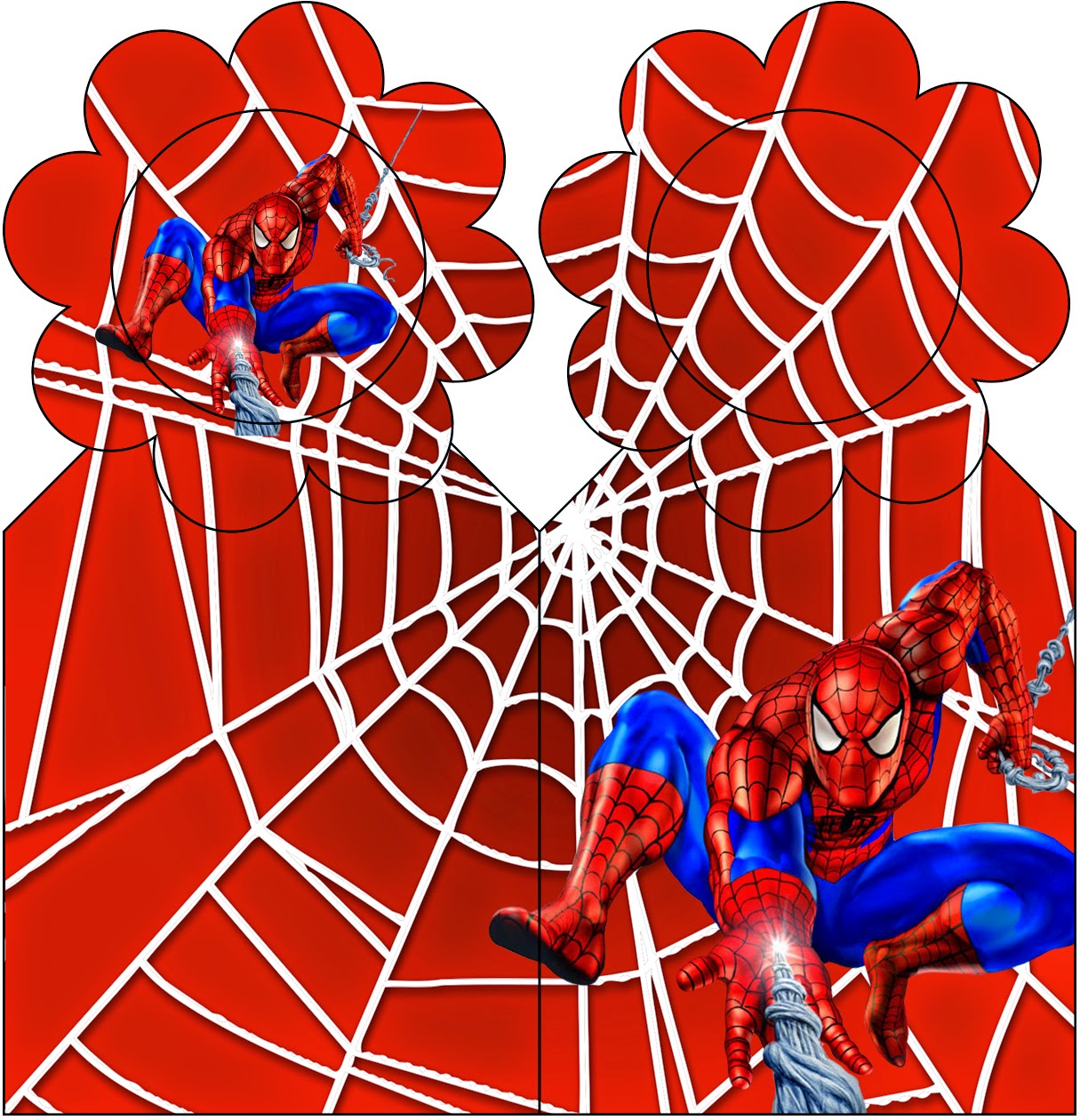 Spiderman Free Party Printables And Images