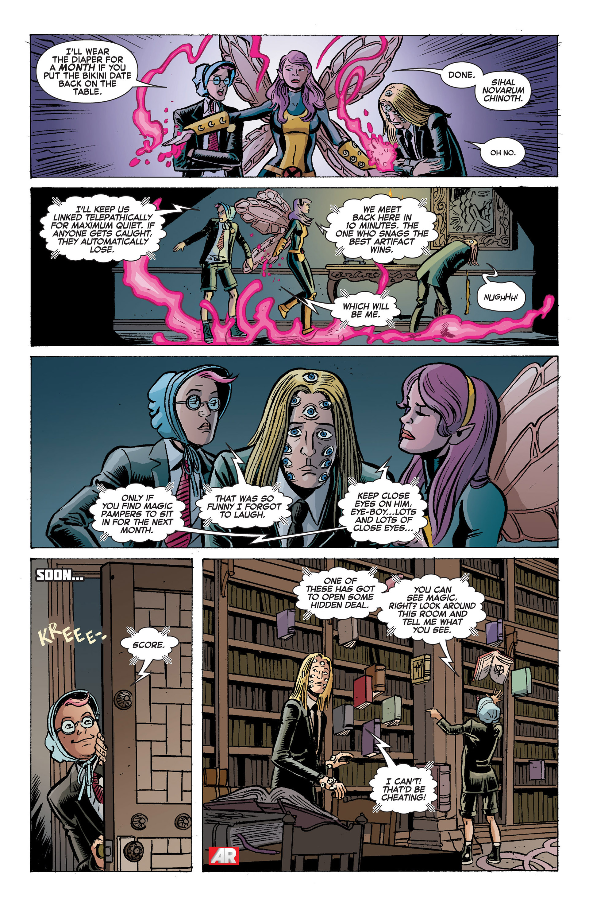 Read online A X comic -  Issue #9 - 14