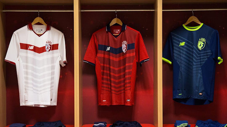 best service a8fb2 6c196 New Balance Lille 16-17 Home, Away & Third Kits Released ...
