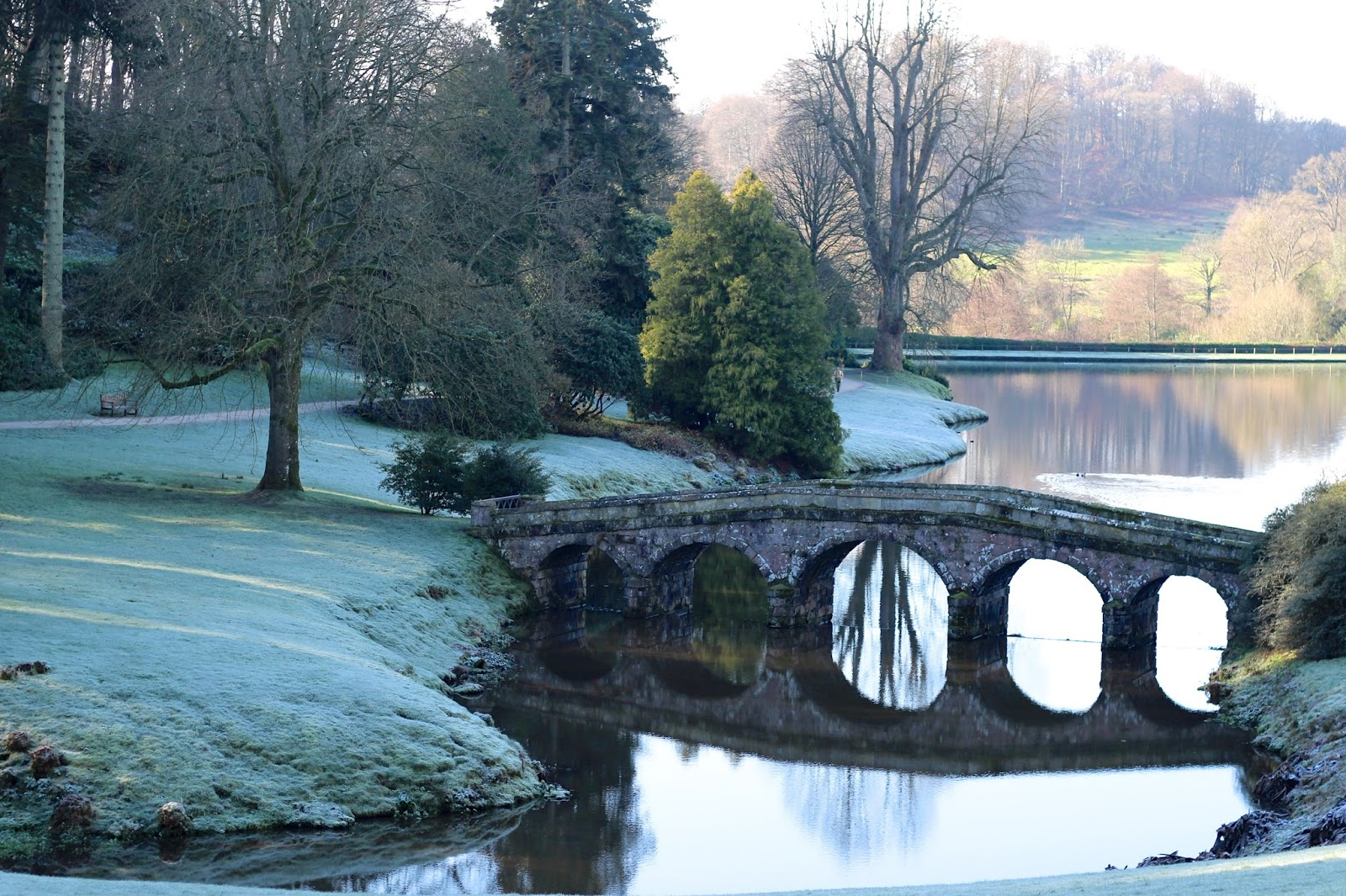 Stourhead at wintertime