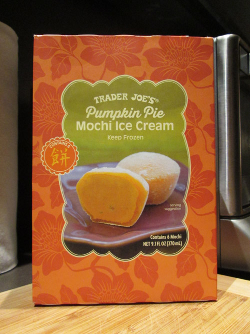 Trader Joe's Pumpkin Pie Mochi