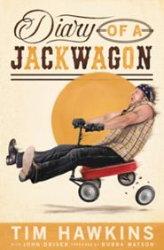 BookReview Diary of a Jackwagon by Tim Hawkins