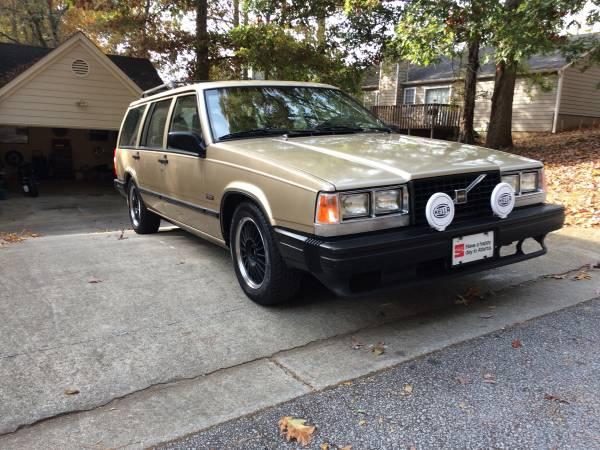 Nice Classic Wagon, 1988 Volvo 740GLE Turbo