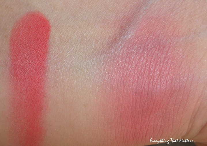 MAC+Frankly+Scarlet+Matte+Blush+Review