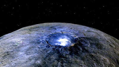 Asteroid Ceres is surprising evolutionary cosmologists again, and is not cooperating with formation of the solar system ideas.
