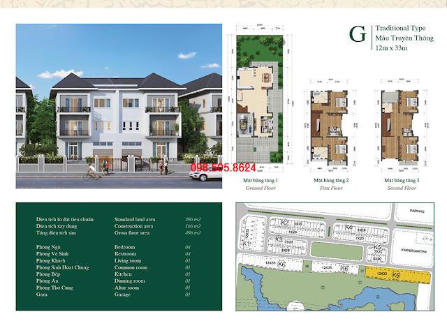 Bán biệt thự Khu K Grand Gardenville Ciputra Tây Hồ Residence