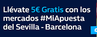 william hill promocion Sevilla vs Barcelona 12 agosto