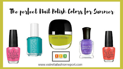 Nail Polish for Summer-Beauty Blogger-Estrella Fashion Report-