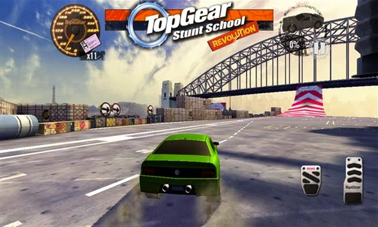 BBC's Top Gear : Stunt School Revolution game out now for Windows Phone