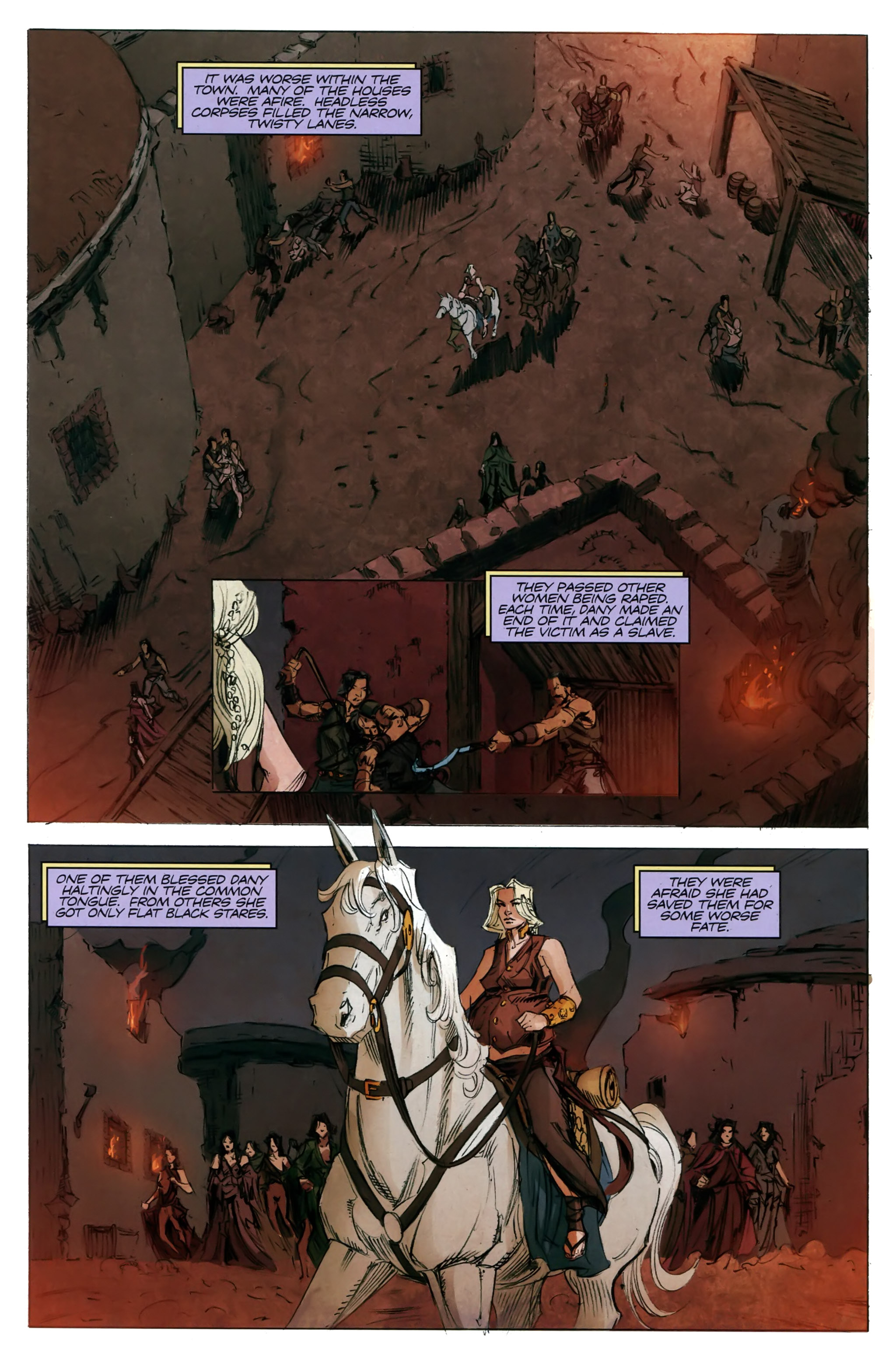 Read online A Game Of Thrones comic -  Issue #20 - 10