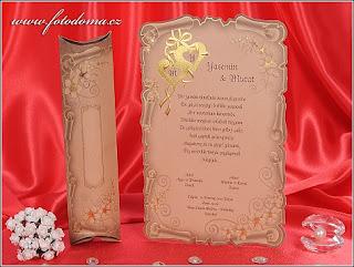 Svatební oznámení 3245