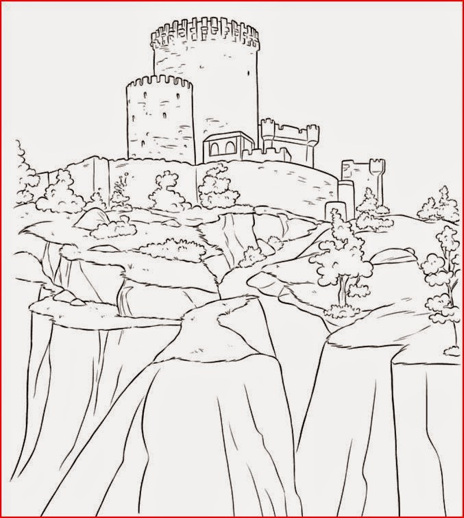 Coloring Pages Frozen Castle Coloring Pages Free And