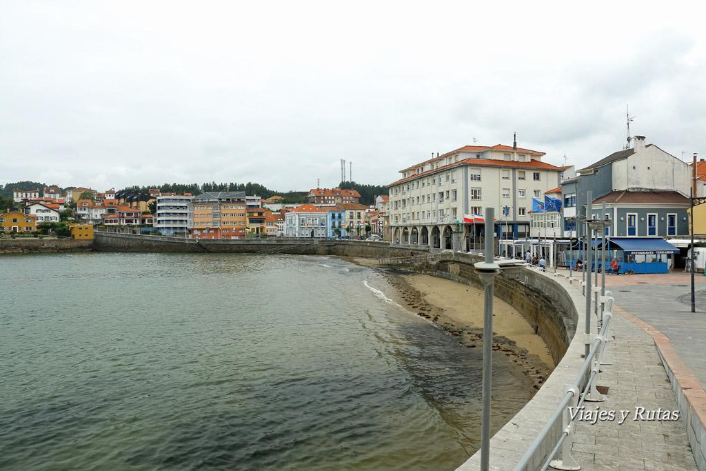 Playa de la Ribera, Luanco, Asturias
