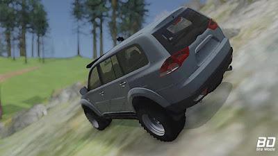 Mitsubishi Pajero Sport para GTA San Andreas - Traseira