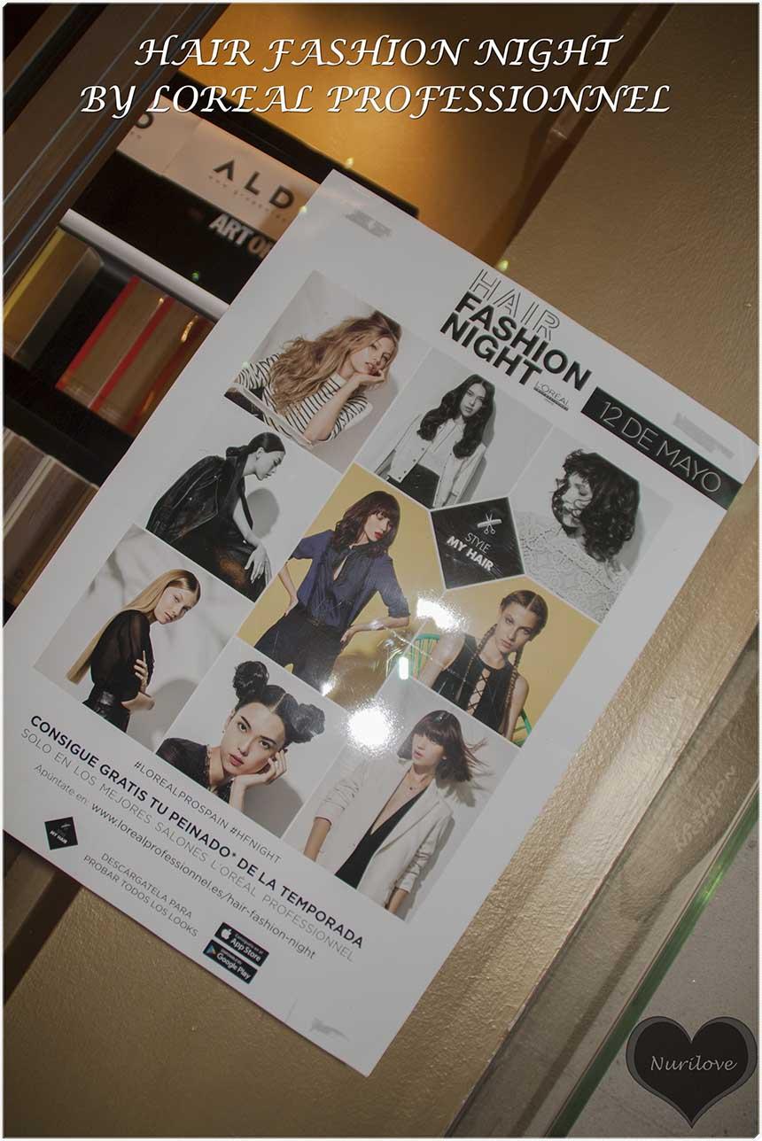 Hair Fashion Night Loreal Professionnel: Elige tu peinado y te lo hacen gratis